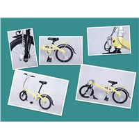 Super Light Electric Folding Bike Folding Ebikes Folding Electric Bicycle