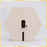 Fashion Popular OEM Recycled Polygon Unique Fancy Large Storage Paper Gift Box Wholesale