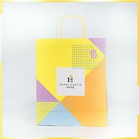 Professional Manufacturer Colorful Multicolor with Silver Hot Stamping Stand up Kraft Printed Paper Bag for Gift