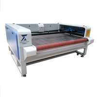 150W Fabric Laser Cutting Machine for Apparel Garment YZ1610