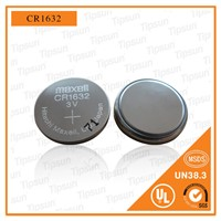 3V Maxell CR1632 Lithium Button Cell Battery for TPMS with High Temperature