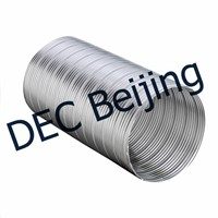 China Suppliers Fire Proof Aluminum Flexible Duct 6 Inch Semi Rigid Flexible Aluminum Duct