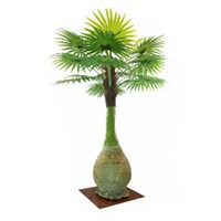 High Quality Artificial Bottle Coconut Palm Trees Fake Plastic Trees for Hotel Decoration