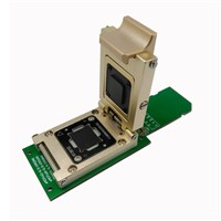EMMC Test Socket to SD Interface Nand Flash Pogo Pin BGA153/169 Reader Pitch 0.5mm Smart Phone Data Recovery