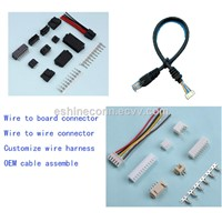 Wire to Board Connector for Cable Wire Harness Assemble To LED Lamps