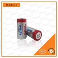High Quality 3.7V ICR16340/ ICR123A Li-Ion 650mAh Rechargeable Battery for LED Light