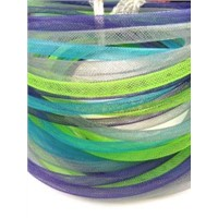 Round Clear Pet Braided Sleeve