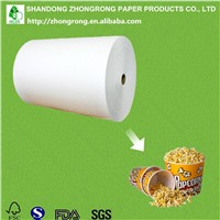 PE Coated Paper Board for Popcorn Tub