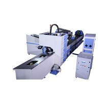 Semi-Automatic CNC Laser Square/Rectangular Tube Cutting Machine