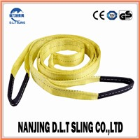 3 Tons Polyester Yellow Eye-Eye Webbing Sling