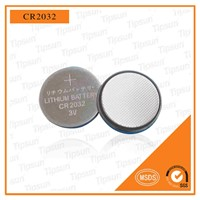 Hot Sale CR2032 3V Lithium Coin Cell Battery for Remote Control