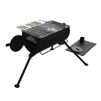 Mini Camping BBQ Free Standing Wood Stove for Sale WMCP03