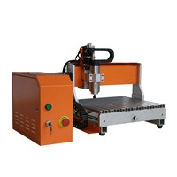 Wood/Acrylic/Aluminum/Copper Engraving Cutting Machine Small CNC Router FD-3040 800W with Water Tank