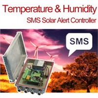 Temperature & Humidity SMS Solar Alert Controller, Alarm System
