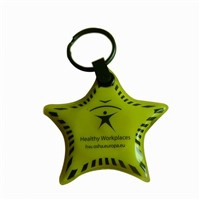 Printing Star Key Chain