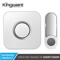 2017 Newest Solar Power Wireless Door Bell Chime Push Button