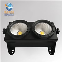 New Arrival 2 Eyes 2*100W COB LED Blinder Light LED Audience Light for Theater Event Party