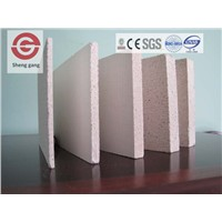 Heat Resistant Fire Resistant Magnesium Oxide Board for Wall Decoration
