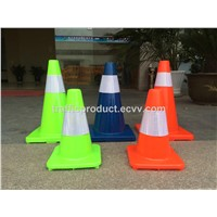 "70cm PVC Taffic Cone 28"" Road Safety Cones with Reflective Tape"