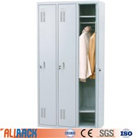 ALI RACKING Office Metal Cabinet Furniture Steel Gym Changing Room Steel Locker