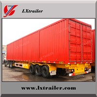 Highway Logistics Transport Van/Box Semi Trailer for Sale