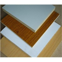 12mm 15mm 18mm Melamine Faced MDF Board / Waterproof MDF