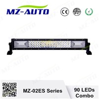 "MZ New Sales 135W LED Offroad Light Bar 1.5W 3030 Chips 20.3""Three Row Straight Light Bar Combo EXW China Factroy Price"