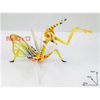 Hand-Eye Coordination Toys with Different Insect Mould Toys for 3D Puzzle