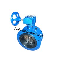 Gear Type Flange Butterfly Valve