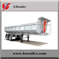 Sand Stone Transport Tipper Semi Lorry / Dump Semi Truck Trailer