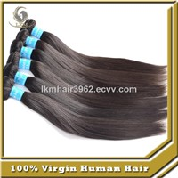 Unprocessed Brazilian Virgin Human Hair Weave Extension Straight Hair Bundles