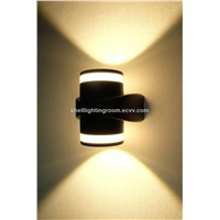 Aluminium LED Waterproof Modern Outdoor Wall Lighting with Three Color