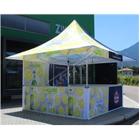 10x10ft Outdoor Folding Pop up Event Tent with Half Sidewall