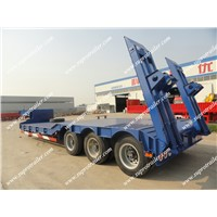 60 Tons Traler, Low Bed Trailer, 4 Axles Trailer