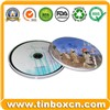 CD Tin Case, Tin CD Box, CD Tin Can, DVD Tin Box, Tin Can (BR1157)