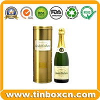 Wine Tin, Metal Wine Box, Wine Tin Box, Whisky Tin Can (BR1701)