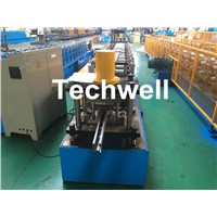 Cold Roll Forming Machine For Making Shutter Door Guide Rail with 16 Roller Stations