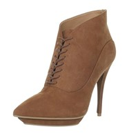 PARRCEN High Heel Shoes Suede Women's Lace up Boot (BD06-2)