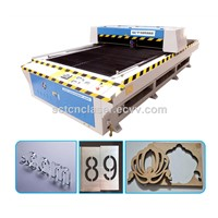 2017 Metal & Nonmetal Laser Cutting Machine for Acrylic Wood MDF Plastic Foam Metal