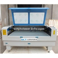 SCT-1410D High Quality Plastic Cutting Double Head Laser Machine