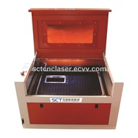 SCT-5040S Logo Marking & Stamp Carving Mini Desktop Laser Machine