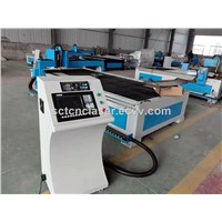 High Speed Metal Sheet CNC Plasma Cutting Machine / Low Cost Metal Cutting Machine