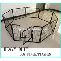New CQX Heavy Duty Pet Dog Metal Exercise Pen Playpen Cage Fence Crate Gate