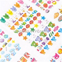 Animal Zoo Crystal Resin Crystal StickersDIY Decoration