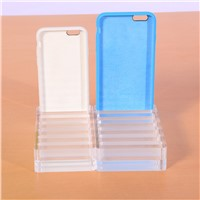 Shenzhen Hot Selling 4.7inch Mobile Phone Case Accessory Display Acrylic Stand Rack