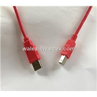Customized White USB2.0/3.0 A To Micro B Mini B Data Charger Cable 2.0V,