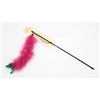 Interactive Fun Pet Cat Kitten Feather Toys Chaser Wand Cat Teaser Play Toy