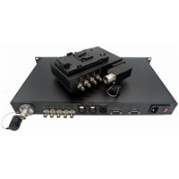 EFP to Fiber Converter SDI/Tally/Return Video/Remote/Genlock/Intercom