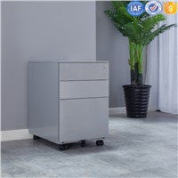 Mobile Steel Filing Drawer Cabinet Use for A4 Folder Storage