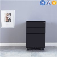 A4 File Storage Mobile Pedestal Drawer File Cabinet